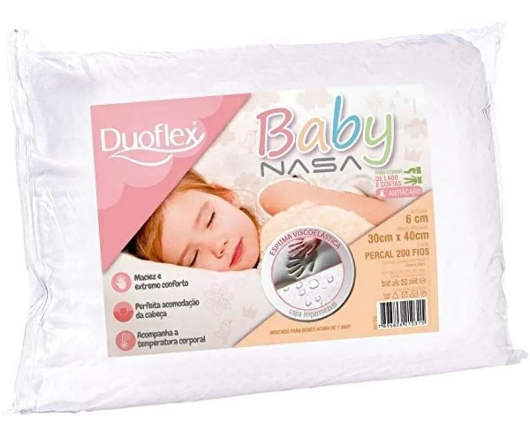 TRAVESSEIRO BABY NASA DUOFLEX