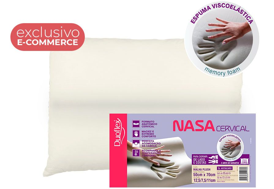 TRAVESSEIRO NASA CERVICAL