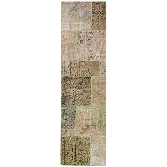 Passadeira Patchwork Carpet 6968 0,83X3,08