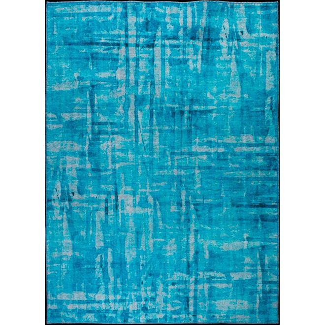 Tapete Abstrato Azul Summer 1,90X2,90m