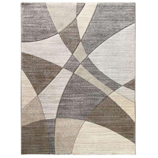Tapete Abstrato Bege FUJI 1,40X2,00m