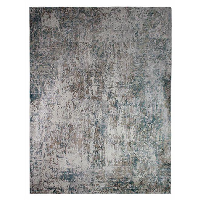 Tapete Abstrato Cinza Dilara 2,50X3,00m