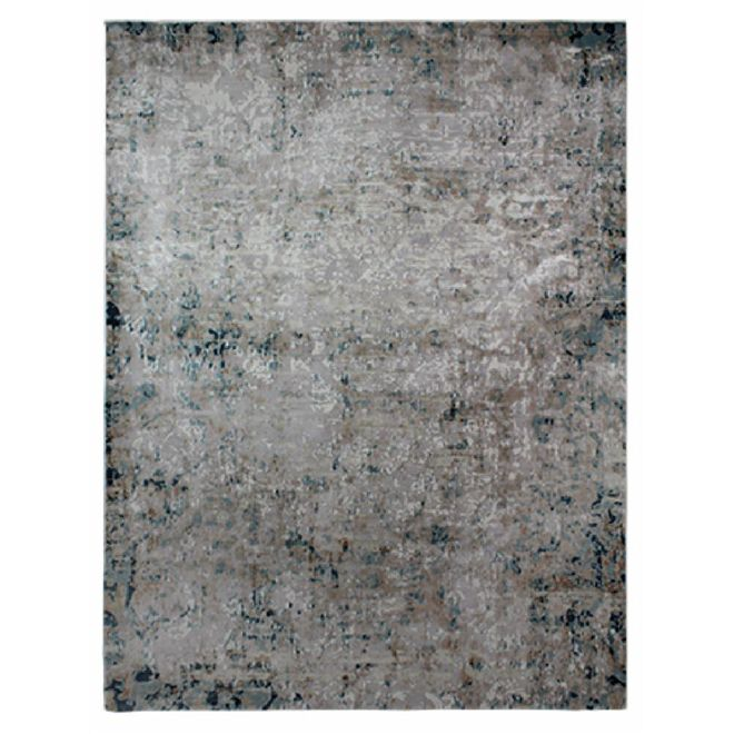 Tapete Abstrato Cinza Dilara 3 2,00X2,50m
