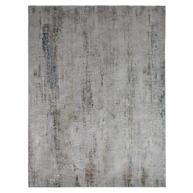 Tapete Abstrato Cinza Dilara 4 2,00X3,00m