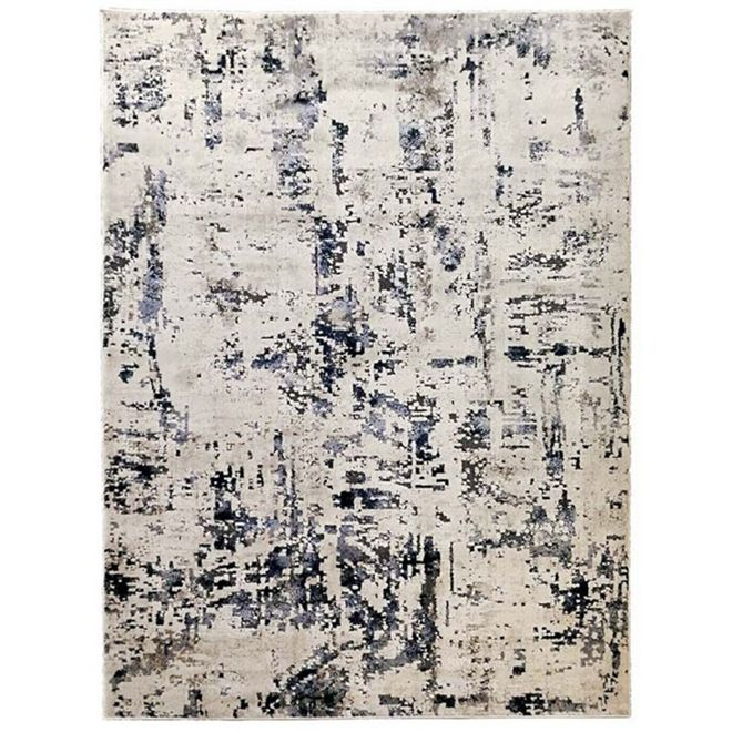 Tapete Abstrato Creme Noble 1,00X1,40m