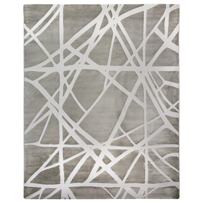 Tapete Abstrato Pérola Umay 2,00X3,00m
