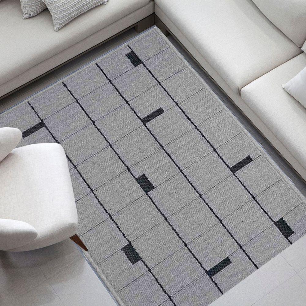 Tapete Cotton Cinza 05/27 1,60X2,35m