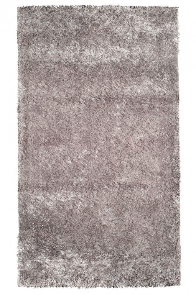 Tapete Fashion Silk Shaggy 40MM Silver 0,60X1,10m