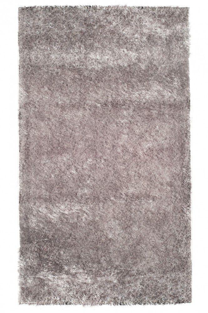 Tapete Fashion Silk Shaggy 40MM Silver 0,90X1,40m