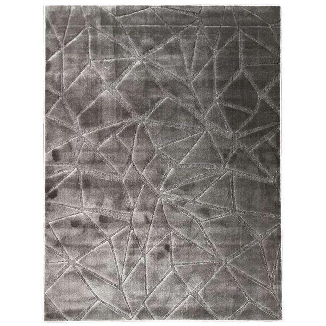 Tapete Geométrico Cinza Noble 2,00X2,50m