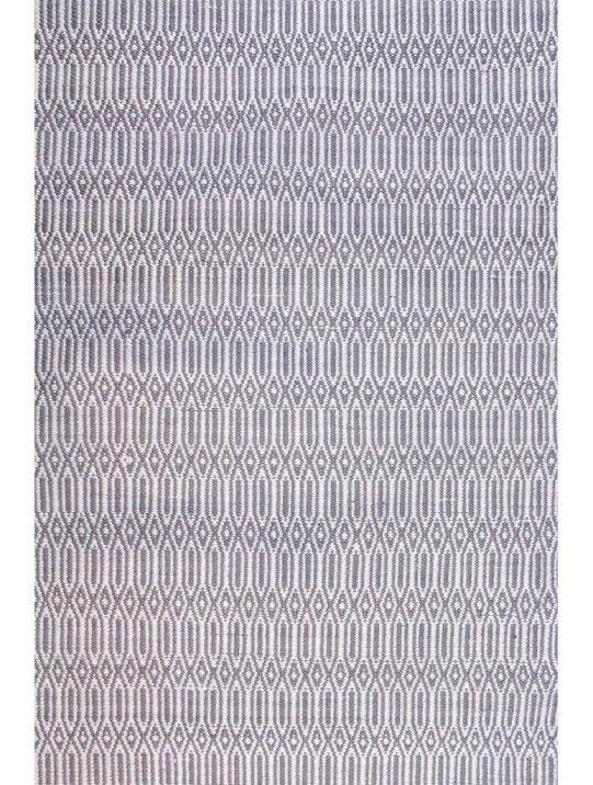 Tapete Maia Geométrico Grey/White 2,00X3,00m
