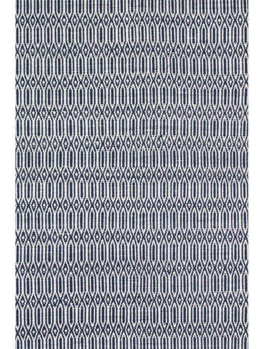 Tapete Maia Geometrico Navy/White 2,00X3,00m