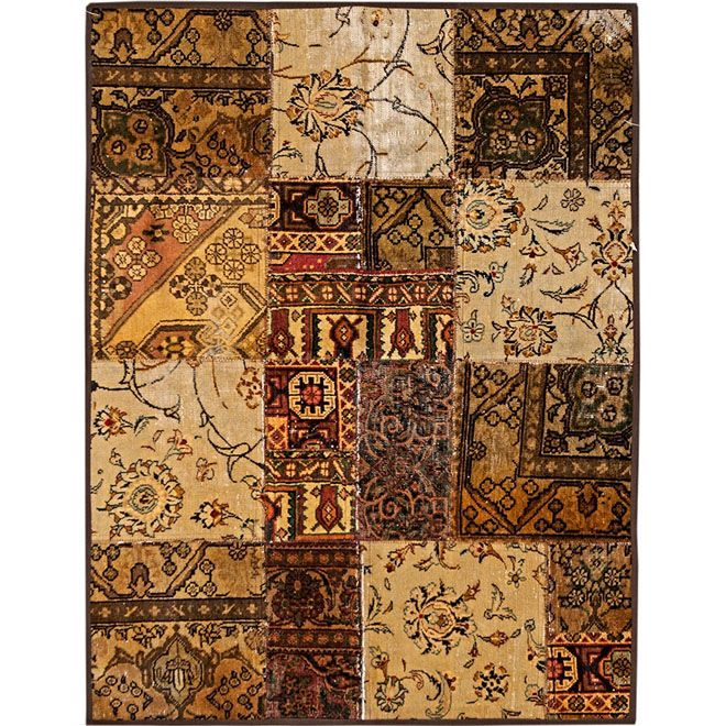 Tapete Persa Patchwork 1663 1,20X1,55