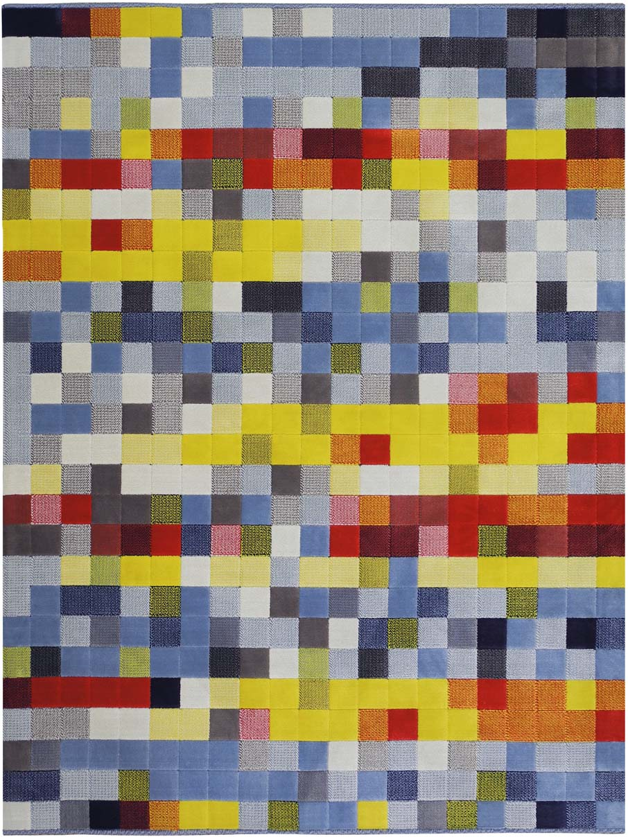 Tapete Pixel 13/75 Colorido 2,00X2,50m