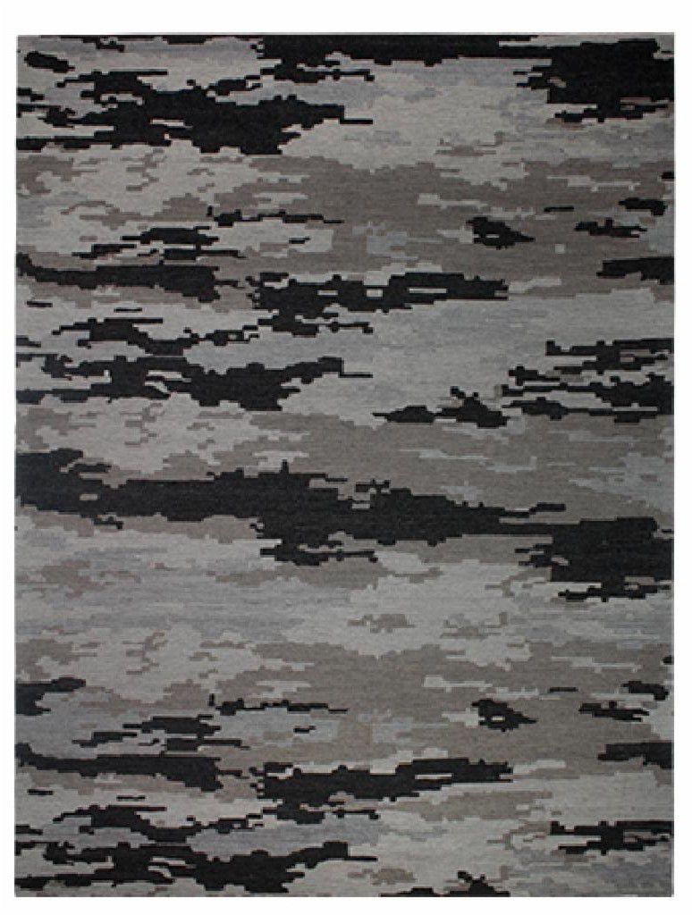 Tapete Rudra - Bege/Cinza - 2,50X3,00m