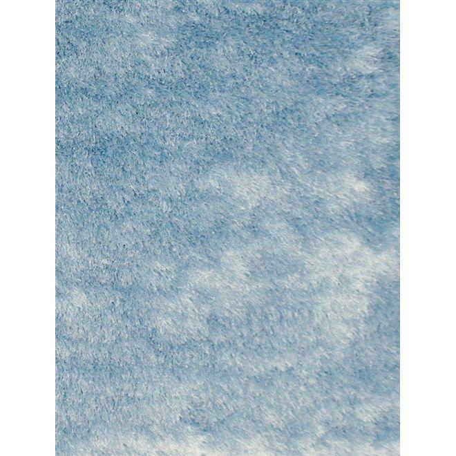 Tapete Shaggy Delhi Azul - 0,50X1,00m