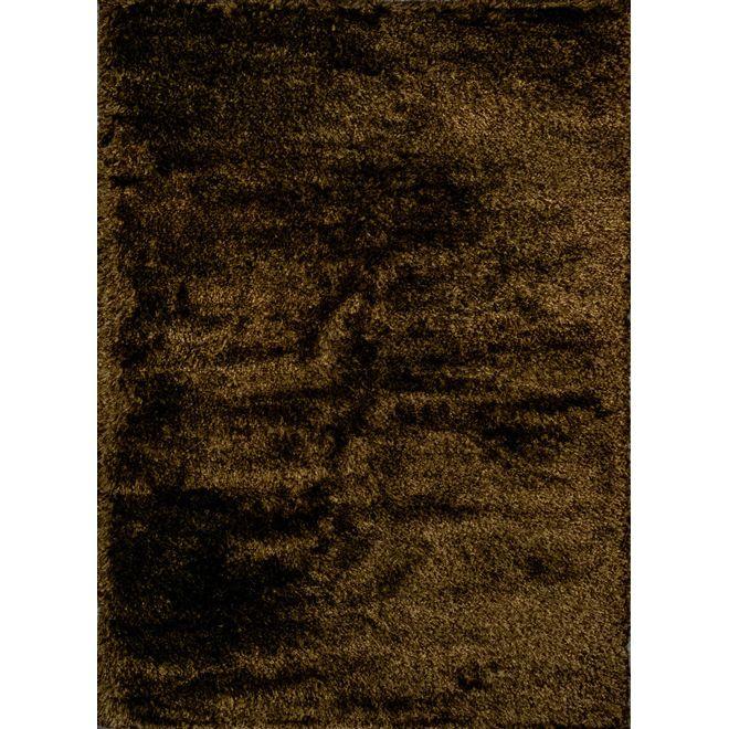TAPETE SHAGGY KYOWA DARK BROWN YELLOW 2,50x3,50m