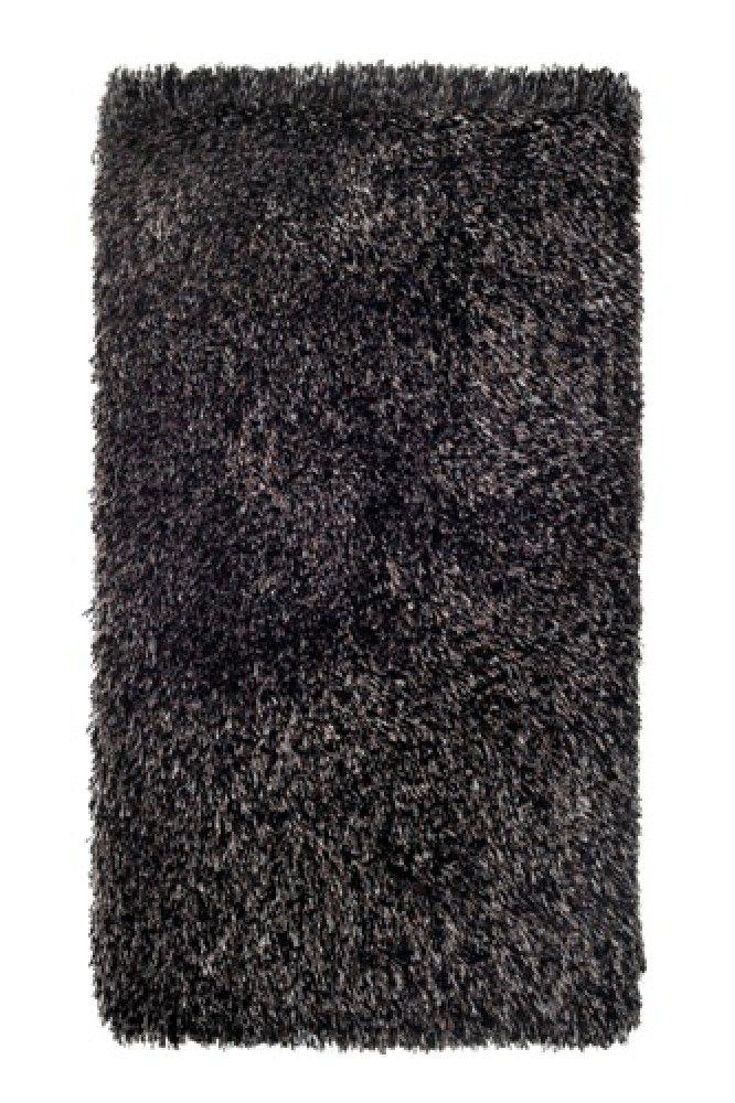 Tapete Supreme Silk Shaggy Preto 0,90X1,40m