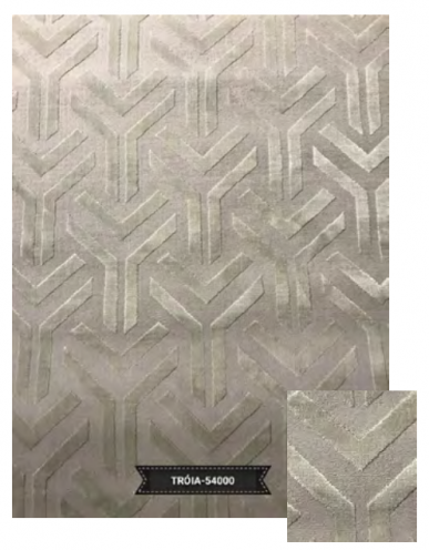 Tapete Troia 54000 Taupe Ice 0,80X2,50m
