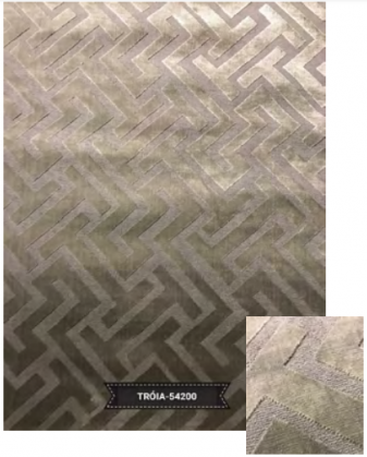 Tapete Troia 54200 Grey Sterling 2,00X2,50