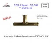 "Adaptador Saída de Água Universal ""T"" 3/4"" x 5/8"""