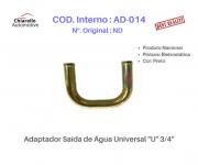 """Adaptador Saída de Água Universal """"U"""" 3/4"""""""