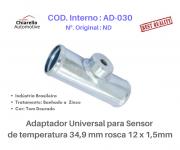 Adaptador universal para sensor de temperatura 34,9 mm rosca 12 x 1,5mm