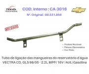 Tubo de Refrigeração ASTRA -ZAFIRA GL, GLS 2.0L, 2.4L MPFI 16v 99/..Gas. C/Ar.