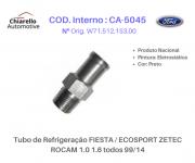 Tubo de Refrigeração FIESTA / ECOSPORT ZETEC ROCAM 1.0 1.6 todos 99/14