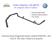 Tubo da água motor AE – GOL /SAVEIRO /VOYAGE /PARATI 1.6 CHT – Álc. Todos S/Ar Quente