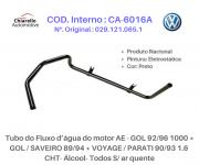 Tubo da água motor AE - GOL /SAVEIRO /VOYAGE /PARATI 1.6 - Gás - Todos S/ar quente