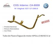 Tubo do Fluxo da água do motor APOLLO 90/92 S/ ar