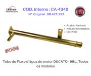 Tubo do Fluxo d'água do motor DUCATO - 98/... Todos os modelos