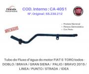 Tubo da água FIAT E-TORQ - DOBLO/ GRAN SIENA/ BRAVO/ LINEA/ PUNTO/ STRADA/ IDEA