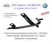 Tubo da água do motor GOL / VOYAGE / PARATI 84/89 / SAVEIRO 84/97 1.6 Diesel - Exportação