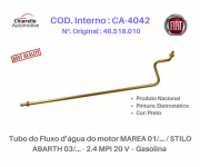 Tubo do Fluxo da água do motor MAREA 01/... / STILO ABARTH 03/... - 2.4 MPI 20 V – Gas.