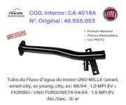 Tubo da água motor MILLE ( TODOS ) - FIORINO - FURGONETA Alc. S/Ar