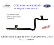 Tubo do Fluxo da água do motor MONDEO 94/96 - Zetec-E 2.0 – Gasolina