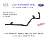 Tubo do Fluxo da água do motor MONDEO 96/98 - Zetec-E 2.0 - Gasolina - C/ar