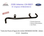 Tubo do Fluxo da água do motor MONDEO 96/98 - Zetec-E 2.0 - Gasolina - S/ar