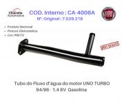 Tubo da água do motor PALIO - ADVENTURE - WEEK - SIENA - STRADA - TREKKING Gas. -S/Ar