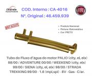 Tubo da água motor PALIO /ADVENTURE /WEEKEND /SIENA /STRADA Gas - C/ar.