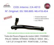 Tubo da água do motor UNO / FIORINO / PALIO / SIENA / STRADA / DÓBLO / IDEIA / PUNTO 08/...1.4 Flex.