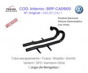 Tubo Escapamento Fusca Brasilia Kombi Variant SP2 BENGALAS