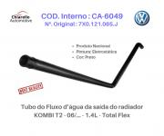 Tubo Superior do Fluxo da água do motor KOMBI T2 - 06/... - 1.4L - Total Flex