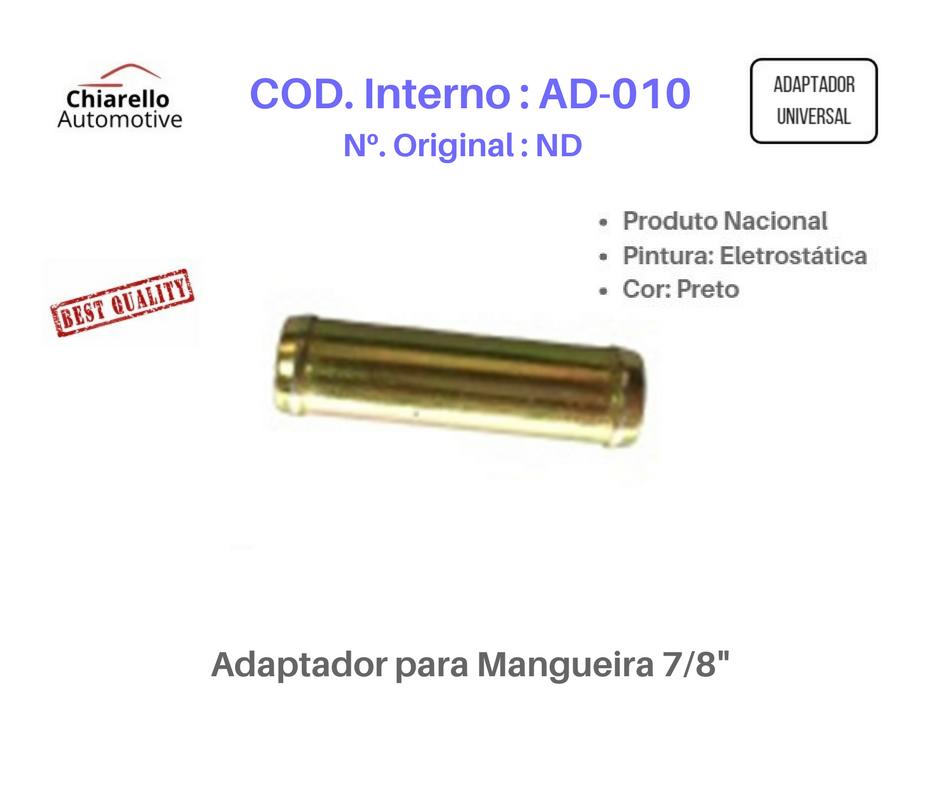 """Adaptador para Mangueira 7/8""""  - Chiarello Automotive"""