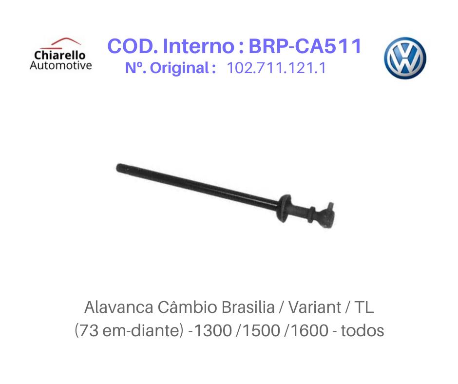 Alavanca Cambio Variant TL Medida 25cm  - Chiarello Automotive