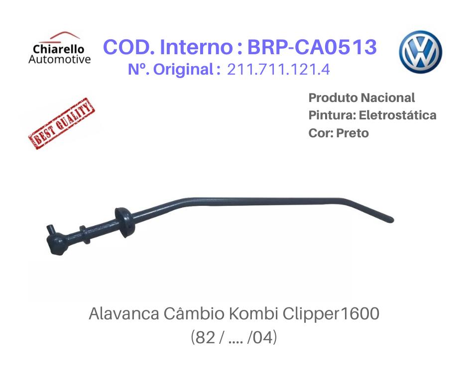 Alavanca Kombi 1600 Clipper Tamanho Longa Medida 60cm Com Curva  - Chiarello Automotive