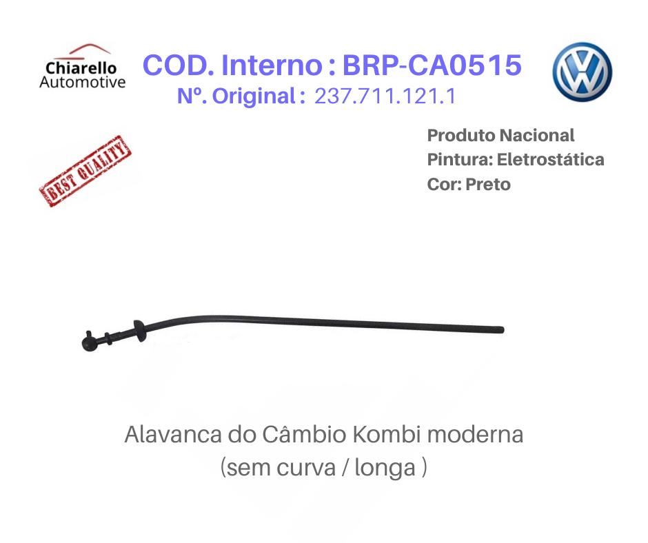 Alavanca Kombi 1600 Clipper Tamanho Longa Medida 60cm Sem Curva  - Chiarello Automotive