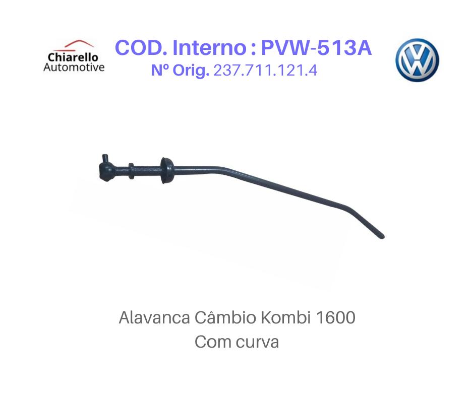 Alavanca Kombi 1600 Tamanho Média Medida 47cm Com Curva   - Chiarello Automotive